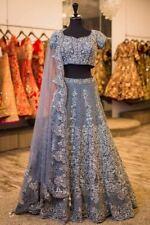 saree Designer Indian wedding bridal silk Bollywood lehenga ghagra lengha choli