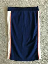 BNWT Tommy Jeans Hilfiger Elasticated Retro Style Jersey Skirt XS W24-26
