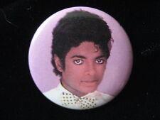 Michael Jackson-Large-Bow Tie-Pin-Badge-Button-80's Vintage-Rare