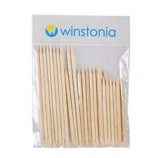 Winstonia 30 Nail Care Wooden Orange Stick Cuticle Pusher Manicure Pedicure Set
