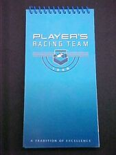 Players Forsy Racing Team Note Pad_Note Book Indy Car Racing OEM