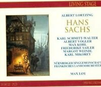 Lortzing: Hans Sachs Max Loy Albert Vogler  Friederike Sailer Frankisches Landes