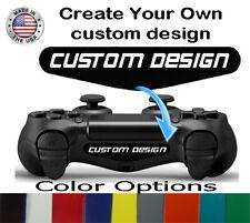 Personalized PS4 Controller Custom Logo Design Light Bar Sticker Decal 2qty