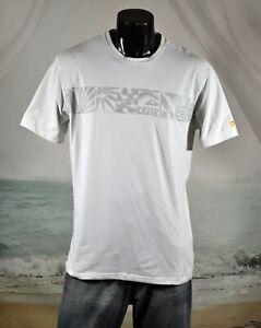 QUIKSILVER UVtech SHIRT XL Short Sleeve Beach Surfing Rash Guard Sun-Protection