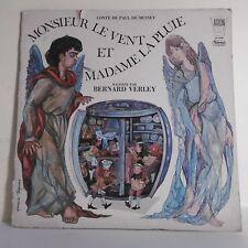 33T CONTE DE MUSSET VERLEY Livre Vinyle LP MONSIEUR VENT ET MADAME LA PLUIE Rare