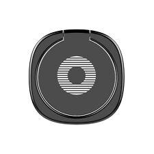 BASEUS Privity Ring Bracket Universal 360 Degree Car Mount Phone Holder Stand Black