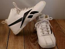 Reebok Basketball Shoes White & Black Men's Sz 5 Nice
