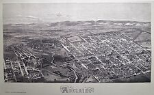 Reproduction of antique 1876 print of Adelaide