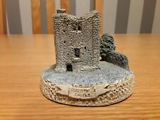 David Winter .. CASTLE KEEP .. WITH GUILDFORD CASTLE PLAQUE .. Very Rare Mould 1