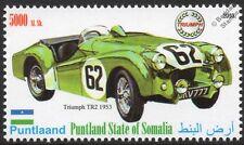 1953 TRIUMPH TR2 Sports / Race Car Automobile Stamp