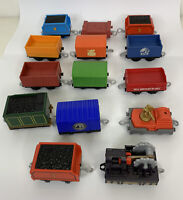 (Lot of 14) Thomas The Train and Friends Cargo Cars Gullane Mattel 2013 & Others