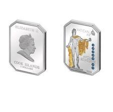 Cook Islands 2009 $5 Vatican Art Apollo Belvedere Silver Coin