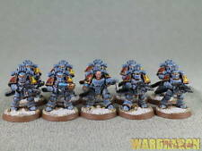 25mm Warhammer 40K WDS painted Space Wolves Mark III Space Marines p82