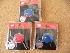 3 - Texas Rangers logo baseball cap pins hat pin NEW for 2015