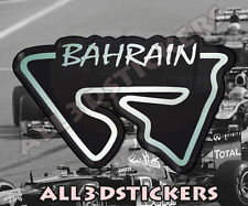 Adesivi Resinati 3D Circuito Bahrain 12x7,5 cm