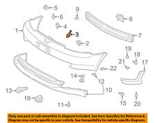 TOYOTA OEM Echo Front Bumper-Cover Retainer Clip or Bracket Right 5253552030