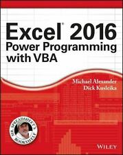 Mr. Spreadsheet's Bookshelf: Excel 2016 Power Programming with VBA by Michael...