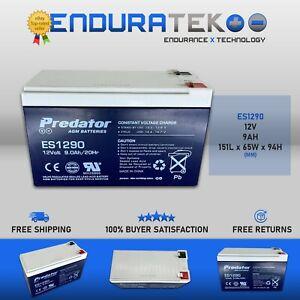 Predator ES1290 (12V 9AH) AGM Battery