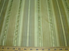 10 Yds Fabricut Stripes 100% Silk Browns Beautiful Upholstery Fabric For Less