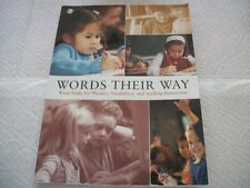 Words Their Way Word Study for Phonics, Vocabulary