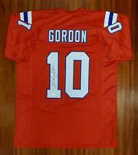 Josh Gordon Autographed Signed Jersey New England Patriots JSA