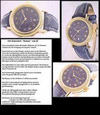 RAREZA Oferta de acción: Diseñador Reloj Unisex ESTRIADO CAJA LINDO ROMEO