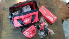 Milwaukee M 12 Ratchet And Impact Driver With Bag And Charger