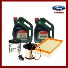 Genuine Ford Transit MK8 2014> 2.2 Service Kit Inc Oil/Filters, Castrol Magnatec