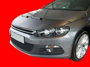 CAR HOOD BONNET BRA fit Volkswagen Scirocco III 2008-  NOSE FRONT END MASK