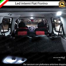 LED INTERNI ABITACOLO COMPLETO FIAT FIORINO X PLAFONIERA A DUE PUNTI LUCE 6000K
