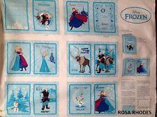 Nutex Retazos De Tela-Disney Congelados-Anna amigos Panel (Libro) - 37080