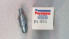 Purolator PCV Valve - PV851 - Made in USA