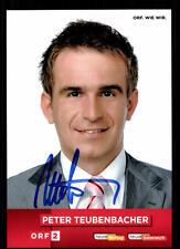Peter Teubenbacher ORF Autogrammkarte Original Signiert # BC 62846