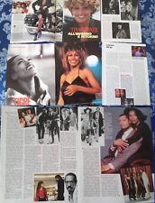 TINA TURNER Whats Love_Anna Mae Bullock_italian clippings_lotto articoli_1993