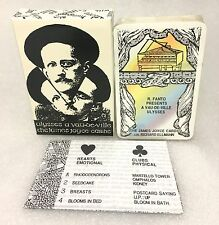 James Joyce Cards Playing Cards / Poker Cards: Ulysses a Vau-de-Ville (White)