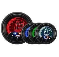 ProSport Evo 60mm LCD banda ancha AFR GAUGE 4 color con pico y advertencia
