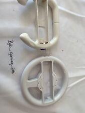 Nintendo Wii  Video Game Steering Wheel Controllers