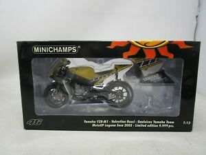 2005 Valentino Rossi Collection MINICHAMPS *YAMAHA YZR-M1* 1:12  (NOS)