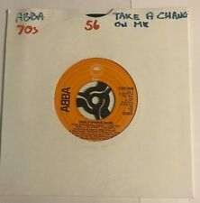 """ABBA - """"Take A Chance On Me""""  7"""" (1978) / """"I'm A Marionette"""" / SEPC 5950   VIN1"""