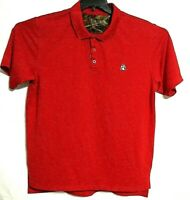 Men's Rocky Polo  Shirt  Red Size XL Short SleevePre owned