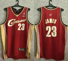 CLEVELAND CAVALIERS LEBRON JAMES #23 SWINGMAN BASKETBALL JERSEY SHIRT MENS 2XL