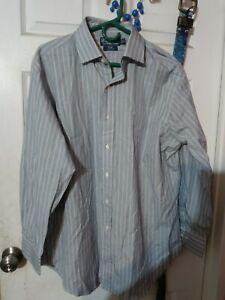 Polo by ralph lauren size 17 32/33 mens button down shirt