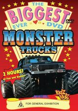 MONSTER TRUCKS - BIG FOOT!! - AWSOME 2 HOURS + NEW & SEALED DVD