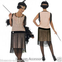 CL185 1920s Coco Flapper Roaring 20s Charleston Gatsby Womens Dress Up Costume