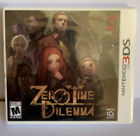Zero Time Dilemma (Nintendo 3DS, 2016)