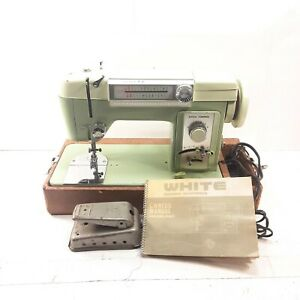 White Model 960 Sewing Machine Heavy Duty Tested Works Great