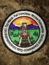 OA OALA ISHADALAKALISH LODGE 561 30th Anniversary 1993 Round WWW