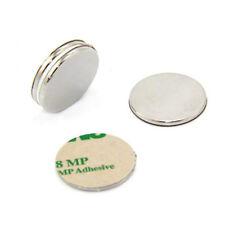 80x  25x2mm Very Strong Craft N42 Neodymium Adhesive Magnet - 3.7kg Pull (North)