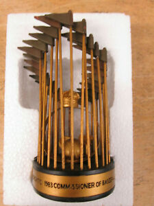 VINTAGE FLORIDA MIAMI MARLINS 1997 WORLD SERIES TROPHY REPLICA NEW IN BOX 2007 S