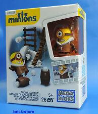 Mega Bloques Minions / Bola / Snowball Fight